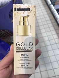 LES COSMÉTIQUES DESIGN PARIS - Gold cellular - Sérum sublimant