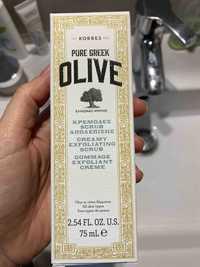 KORRES - Pure greek olive - Gommage exfoliant crème
