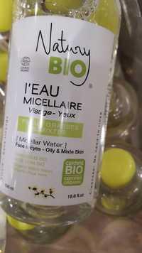 NATURY - L'eau micellaire visage et yeux bio