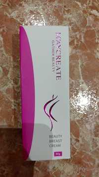 GATHER BEAUTY - M'aycreate - Beauty breast cream