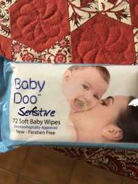 Baby Doo - Sensitive - 72 Soft baby wipes
