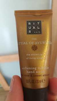 Rituals - The ritual of ayurveda - Softening miracle hand scrub