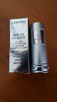 Lancôme - Rouge in love jolis matins