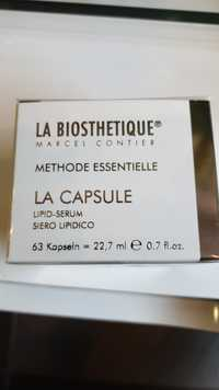 La Biosthetique - Méthode essentielle la capsule - Lipid-serum