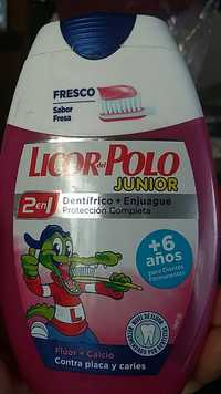 LICOR DEL POLO - Dentífrico 2 en 1 junior