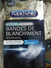 Rapid White - Bandes de blanchiment - Tooth whitening