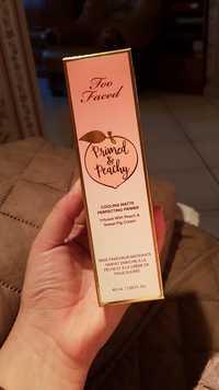 TOO FACED - Primed & Peachy - Base fraîcheur matifiante
