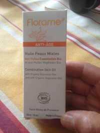 Florame - Anti-âge - Huile peaux mixtes