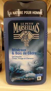 Le petit marseillais - Homme - Gel douche Minéraux & bois de cèdre