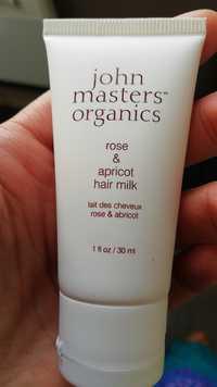 JOHN MASTERS ORGANICS - Lait des cheveux rose & abricot