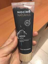 NOCIBÉ - Naturals detox argile - Masque gommant purifiant