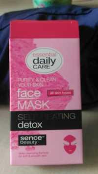 SENCE BEAUTY - Self-heating detox - Face mask