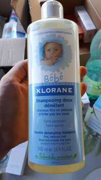 Klorane - Bébé - Shampooing doux démêlant