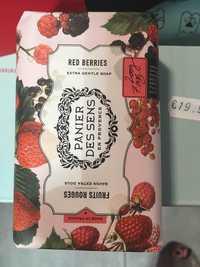 PANIER DE SENS - Fruits rouges - Savon extra doux