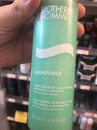 Biotherm - Homme Aquapower - Lotion fraîcheur oligo-thermale
