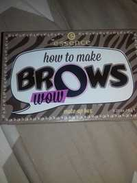 Essence - How to make brows wow - Make-up box