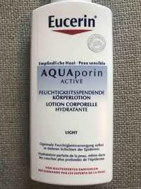 Eucerin - Aqua porin active - Lotion corporelle hydratante