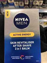 NIVEA - Men Active energy - Skin revitaliser after shave 2 in 1 balm