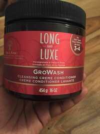 LONG AND LUXE - Growash - Crème conditioner lavante