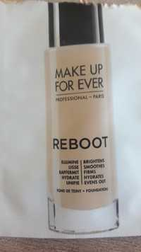Make up for ever - Reboot - Fond de teint
