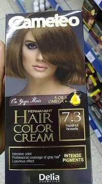 DELIA COSMETICS - Cameleo - Hair Color Cream 7.3 Noisette