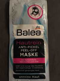 Balea - Hautrein - Anti-pickel peel-off maske