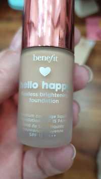 BENEFIT - Hello happy - Fond de teint liquide couvrance moyenne - SPF 15 PA++