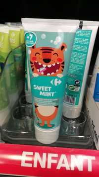CARREFOUR - Sweet mint - Dentifrice