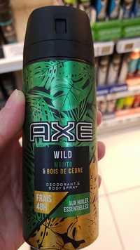 AXE - Wild Mojito & Bois de Cèdre - Deodorant & body 48h