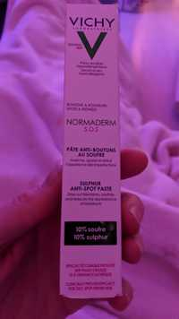 VICHY - Normaderm S.O.S - Pâte anti-boutons au soufre