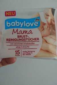 Babylove - Mama - Brust reinigungstücher