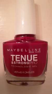 MAYBELLINE - Tenue & strongpro - Vernis à ongles