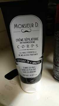 Laurence Dumont - Monsieur D. - Crème dépilatoire