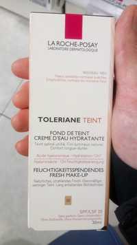 La Roche-Posay - Toleriane - Fond de teint crème d'eau hydratante SPF/LSF 20 - 02