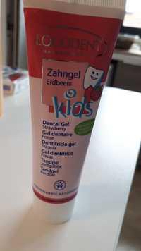 Logona - Logodent naturkosmetik - Dentifrice gel fraise kids