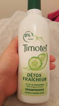 Timotei - Détox fraîcheur - Shampooing cheveux à tendance grasse