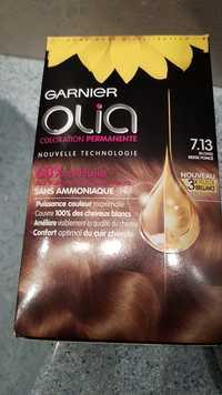 GARNIER - Olia - Coloration permanente 7.13 blond beige foncé