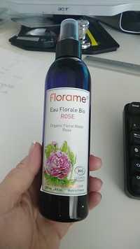 FLORAME - Eau florale bio rose