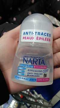 NARTA - Anti-traces peaux épilées
