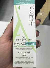 A-Derma - Avoine Rhealba - Soin anti-imperfections