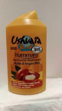 UshuaÏa - Hammam - Gel douche régénérant à l'huile d'argan bio