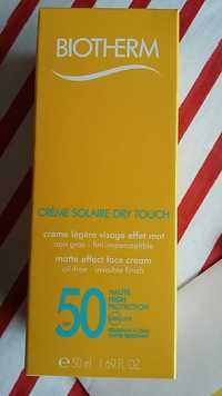Biotherm - Crème solaire dry touch SPF 50