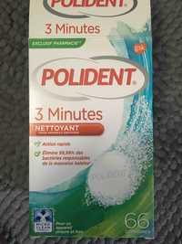 Polident - 3 minutes - Nettoyant pour appareils dentaires