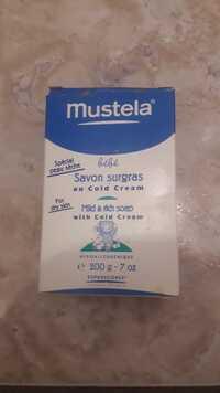 MUSTELA - Bébé - Savon surgras au cold cream