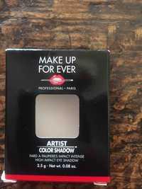 Make up for ever - Artist color shadow - Fard à paupières impact intense