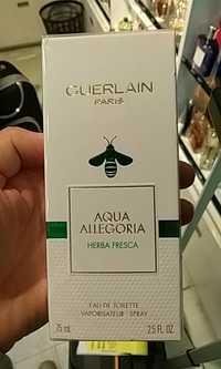 Guerlain - Aqua allegoria - Eau de toilette
