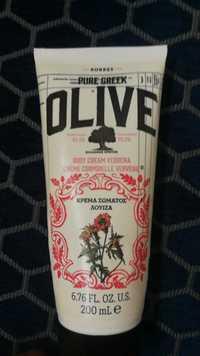 KORRES - Pure greek olive - Crème corporelle verveine
