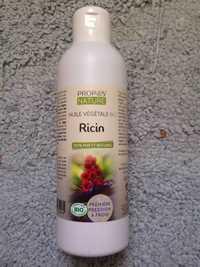 Propos'Nature - Huile végétale bio - Ricin