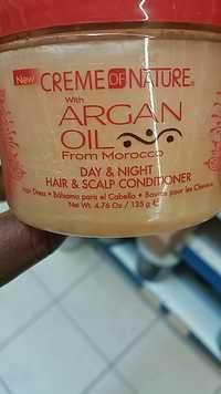 CREME OF NATURE - Argan oil - Hair & Scalp conditioner
