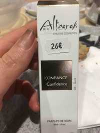 ALTEARAH - Confiance confidence - Parfum de soin